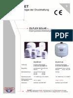 Vasos de Expansión Zilmet solarplus