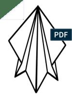 Paperplan Shape Bookmark