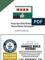 LSI Denny JA-Hoax dan Efek Elektoral Kasus Ratna Sarumpaet.pdf
