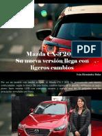 Iván Hernández Dalas - Mazda CX-3 2019, Su Nueva Versión Llega Con Ligeros Cambios