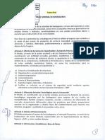 Ley General de Bomberos | Texto Final