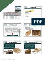 Estruturas de Madeira - Wood Frame