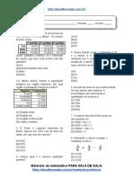 Simulado_Atividade 24 de Matemática Para 6º Ano