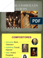 La Música Barroca en Europa