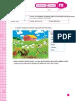 Evaluacion 3A Graficos de Barras y Pictogramas. (Con Pauat)