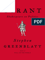 Tyrant_ Shakespeare on Politics by Stephen Greenblatt