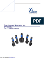 manual Grandstream Networks IP Phone DP710