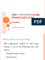 SQA Components in the Project Life Cycle