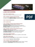 Programa Filcanelones 2018