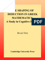 (Ideas in Context) Reviel Netz-THE SHAPING OF DEDUCTION IN GREEK MATHEMATICS A Study in Cognitive History-Cambridge University Press (2003).pdf