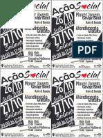Cartaz_Ação Social 2018 4 Por 1