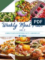 Weekly Meal Plan Vol1