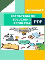 Trabajo Psicología Del Pensamiento Estrategias de Solución de Problemas Práctica Grupal