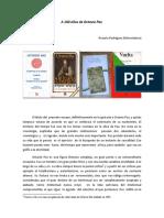 A Cien Años de Octavio Paz-Rosario Rodríguez