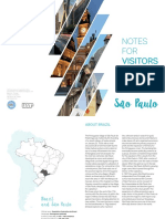 Notes for Visitors 2018 _ University of São Paulo