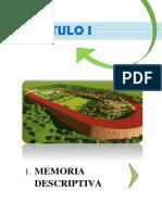 1. Memoria Descriptiva