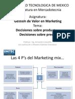 Gestión de Valor en Mkt - Proceso de Toma de Decisión Para Un Producto o Servicio