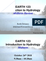 Midterm Review - Earth 123
