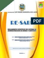 RE-sabs AprobadocDE Nº23 y RAMEC Nº 004-2018