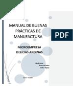 Manual Delicias Andinas Correcciones