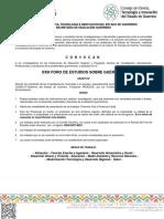 CONVOCATORIA FESGRO 2018
