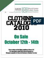 Clothing Catalogue 2010