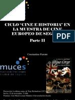 Constantino Parente - Ciclo Cine e historia€ en la muestra de cine europeo de Segovia, Parte II