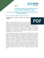Prevencion Material de Lectura - Clase 11 - Politicas Publicas. Escuela y Territorio