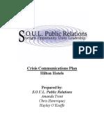 crisis comm plan