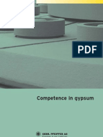Competence in Gypsum