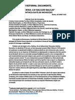 PROCESUL LUI GALILEO GALILEI-SENTINȚA-TRADUCERE COMPLETĂ.pdf