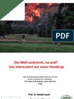 Klimawandel Und Energiewende Als Überforderung Warum Tun Wir Nicht Was Wir Sollten - Vortrag Harald Lesch
