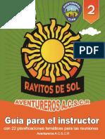 Rayos de Sol - Guía Para El Instructor Asociación Central Sur de Costa Rica