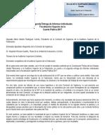 Informe correspondiente a la Fiscalización de la Cuenta Pública 2017