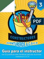 Constructor - Guía Para El Instructor Asociación Central Sur de Costa Rica