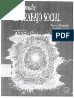 Zaramillo_T y Gaitán L. 1991 Para Comprender El Trabajo Social
