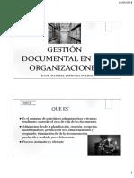 Gestion Documental en Las Organizaciones