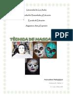 Trabajo de Mascara