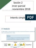 Sesion 1 Matematicas Financieras 29 de Octubre 2018