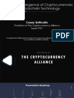 Casey Botticello Presentation on the Cryptocurrency Alliance Super PAC