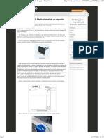 Arduino y MPX2010. Medir El Nivel de Un Deposito de Agua