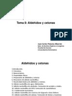 Diapositivas Tema 8. Aldehidos y Cetonas