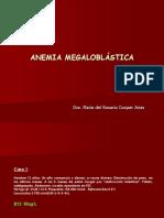 Clase 3. Anemia Megaloblástica
