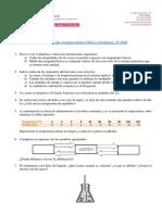 Actividades de Recuperación Física-Química 3ºESO