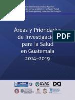 Prioridades de Investigacion Subcomision 2013-11-05