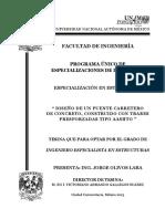 Zegarra Ciquero Luis Analisis Diseño Puentes Colgantes