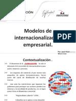 Modelos de Internacionalizacion Empresarial I y II