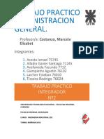 Tp Integrador n2 Administracion