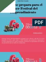 Danilo Diaz Granados - Bogotá Se Prepara Para El Primer Festival Del Emprendimiento
