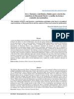 Semiótica de Peirce e Saussure